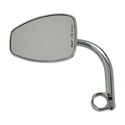 "1"" Clamp-on Utility Mirror Teardrop CE - Chrome"