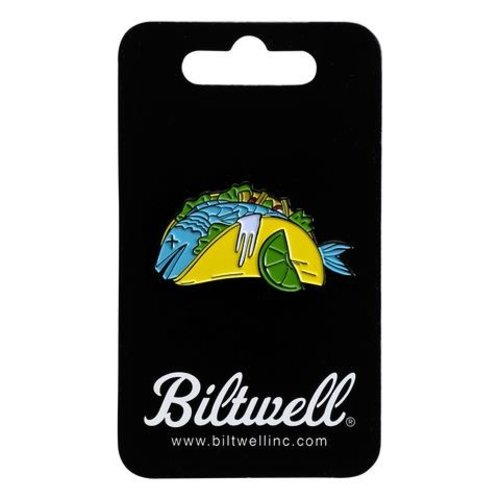 Biltwell Enamel Pin Fish Taco