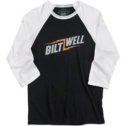 Bolts Raglan Shirt - Schwarz / Weiß