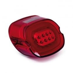 Laydown Achterlicht Rood / Rood LED voor Harley Touring