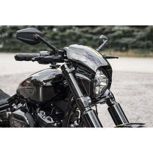 """Killer Custom """"Agressor"""" - Headlight Fairing  18-19 Softail FXBR / S Breakout"""