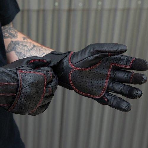 Biltwell Borrego Gloves - Redline
