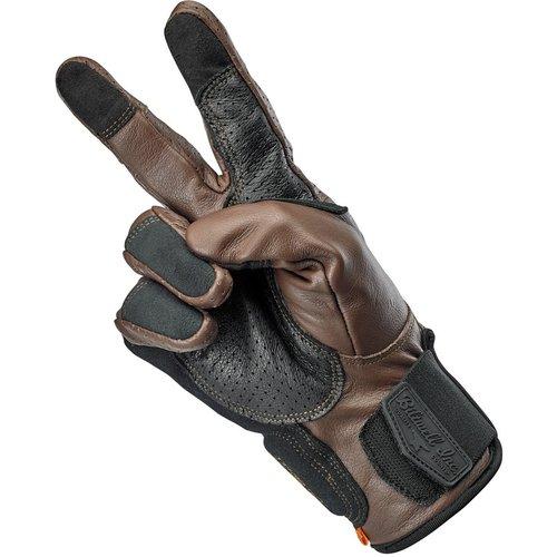 Biltwell Borrego Gloves - Chocolate/Black