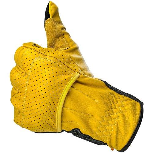 Biltwell Borrego handschoenen - goud / zwart