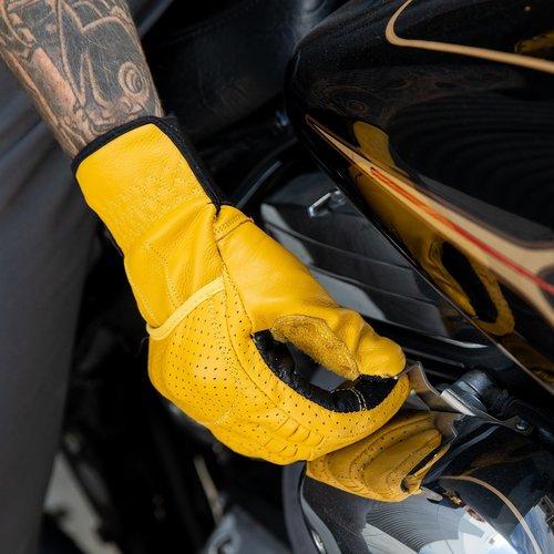 Biltwell Borrego Gloves - Gold/Black