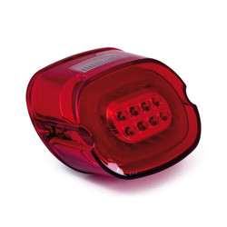 Laydown Led Taillight 06-09 FLHX 09-14 Touring