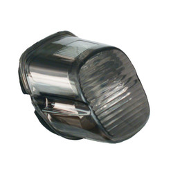 Laydown achterlicht Lens voor 03-17 Softail, Dyna, FLT / Touring, XL