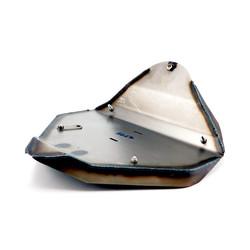 Combinaison de selle avec plaque de base pour garde-boue NCC > 18-19 FXBR/S