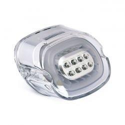 Laydown LED Rücklicht Klarglas für verschiedene 06-14 Tourings