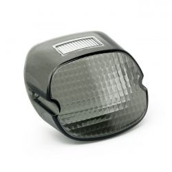 Laydown Taillight Lens Light Smoke for 73-98 H-D