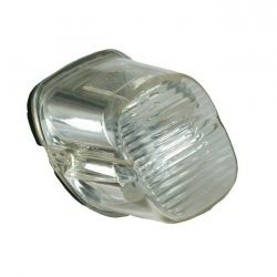 Laydown Taillight Clear Lens for various 03-17 H-D