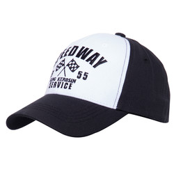 Baseball cap with Speedway front