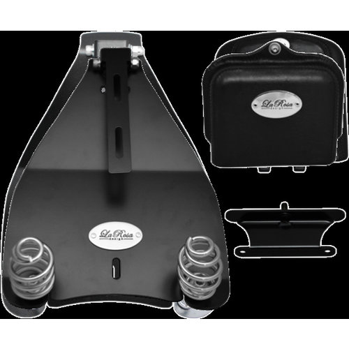 La Rosa 3 '' Barrel Springs Solo Seat Montagesatz für verschiedene HD