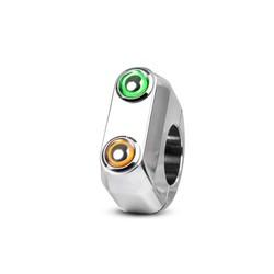 REBEL.SWITCH 2 knops LED - polished 22mm