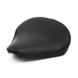 Fitzz Custom Large Solo seat Zwart smooth