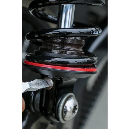 Progressive Suspension 490 Sport Series Shocks 12,5 '' für 06-17 Dyna (exkl. 12-16 FLD Switchback)