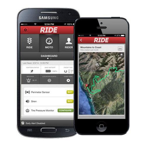 Ride Smartlink GPS beveiligingssysteem voor Harley Davidson