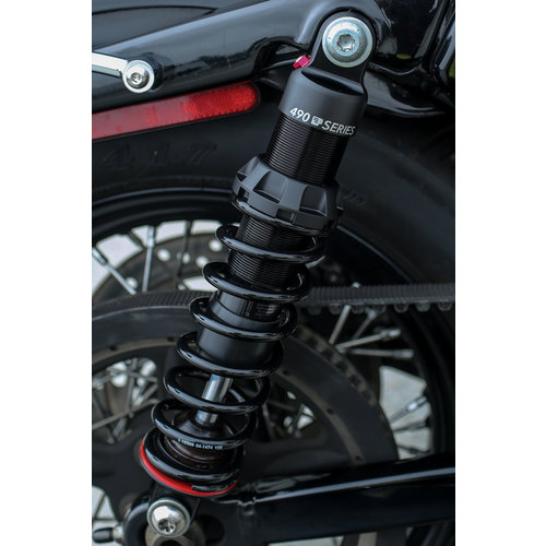 Progressive Suspension 490 Sport series Shocks 13.5'' for 06-17 Dyna (excl. 12-16 FLD Switchback) (NU)