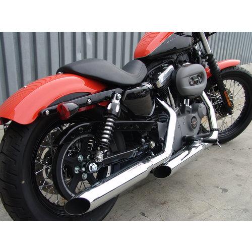 Progressive Suspension 430 Serie Achterschokbrekers voor Harley 12-16 Dyna FLD Switchback (NU) (selecteer variant)