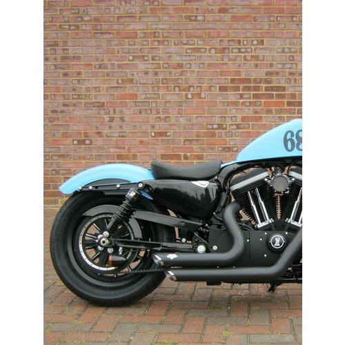 Progressive Suspension 412 Shocks for Harley 04-19 XL