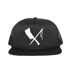 cap logo black
