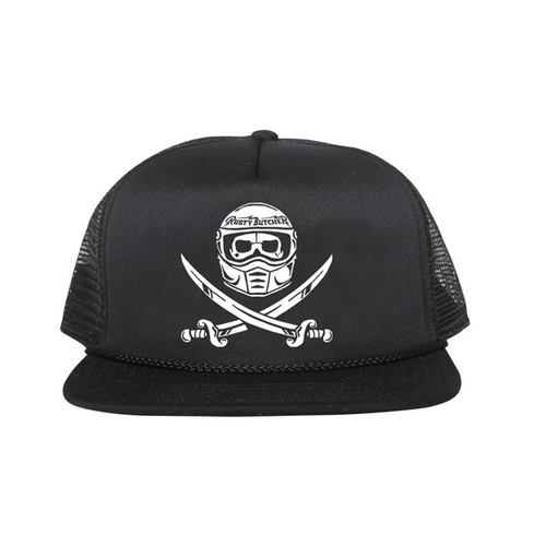 Rusty Butcher cap surrender black