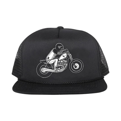 Rusty Butcher mesh cap wheelie