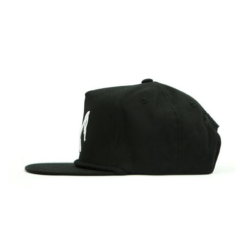Rusty Butcher cap logo snapback black