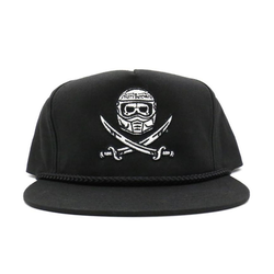 cap surrender snapback black