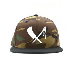 cap logo snapback camouflage