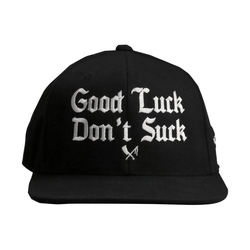 snapback cap Good Luck