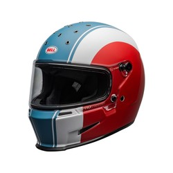 Eliminator Helm Slayer Mat Wit/Rood/Blauw
