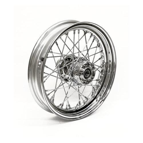 MCS 4.50 x 17 Achterwiel 40 Spaaks chrome 00-06 FXST, FLST; 00-05 FXD, FXDWG; 00-04 XL