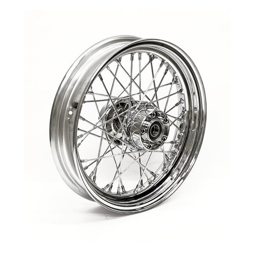 3.00 x 16 Achterwiel 40 Spaaks chrome 97-99 FXST/FLST; 97-98 FXD/FXDWG; 99FXD/FXDWG; 97-99 XL