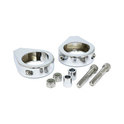 5/16 x 41MM Fork Mount Clamp Kit - Chrome