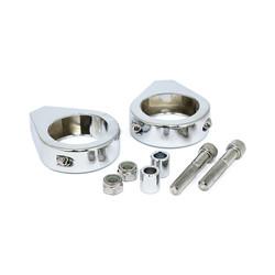 Kit de serrage de fourche 5/16 x 41 mm - Chrome