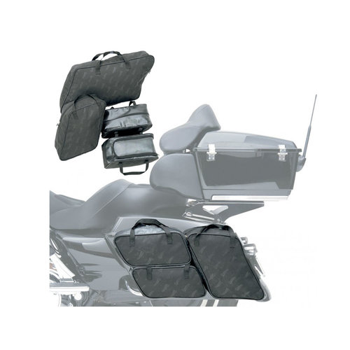 Saddlemen EX000535 Inner Bags Set (4 pcs) Hard Suitcases Touring 1999-2013