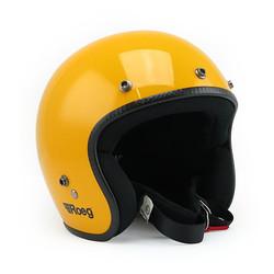 Jett Helm Glossy Yellow - Größe L.