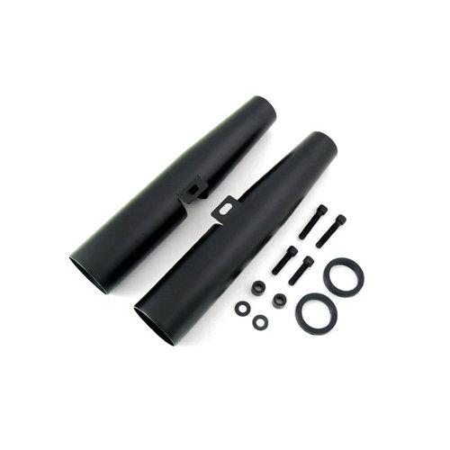 39MM Voorvork Cover Set -Zwart 88-03 XL(geen spatbord)