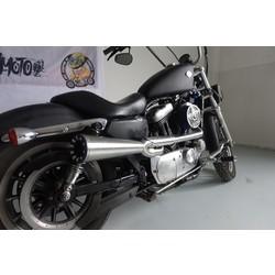 Highway Man Exhaust System Harley Davidson Sportster 2004-2018