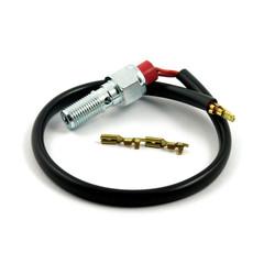 3/8-24 Bremslichtschalter Sensor Hohlschraube - Harley