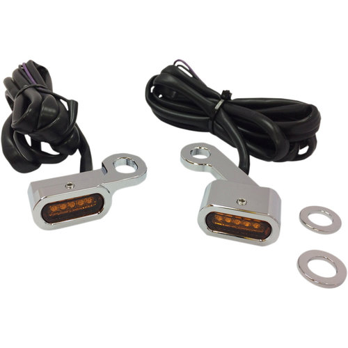 Drag Specialties LED Stuur Knipperlichten Sportster XL 883 / 1200 - 04-20