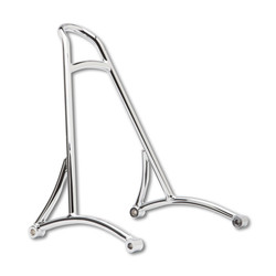 "13"" Chrome Sissy Bar kort Voor Harley Davidson 96-03 XL"