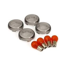 Bullet Turn Signal Lens Kit Smoke