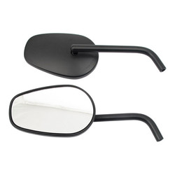 Mirror Set ECE Certified Black Universal