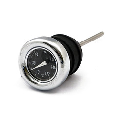 Oil Dipstick With Temperature Gauge Black For Harley Davidson 84-99 SOFTAIL; 82-03 XL (NOW)