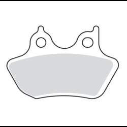V-Pad semi-gesinterde remblokken 00-07 BT 00-03 XL; 02-05 V-ROD