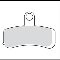 Vordere Bremsbeläge für Harley Davidsion Softail / Dyna