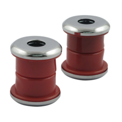 Lenkungsdämpfer-Kit, rotes Polyurethan für Harley Davidson