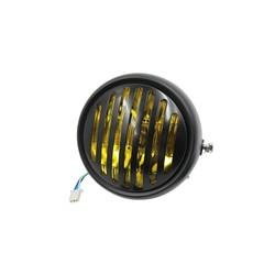 "6.5"" Yellow & Black Raster Headlight"